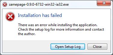 Trouble installing Samepage desktop app