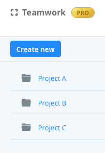Folder as a project