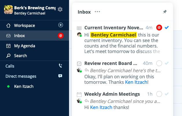 Document Chat Inbox