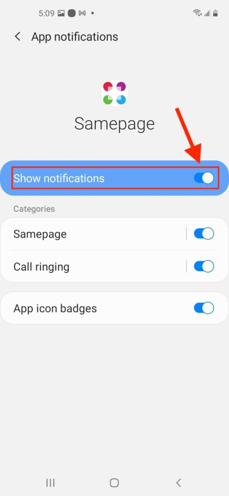 Mobile Notifications Android 2