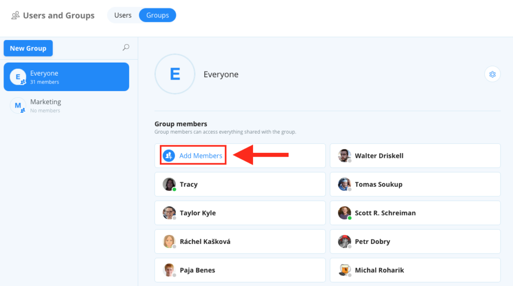 Add User To User Group